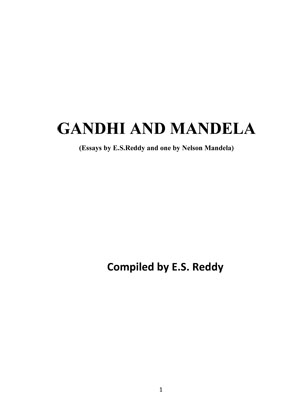 gandhi and mandela